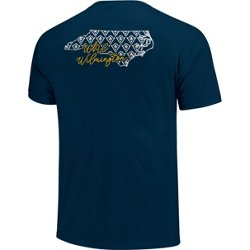 Women's University of North Carolina at Wilmington Allover State Pattern T-shirt