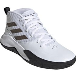adidas Kids' Own the Game Wide Basketball Shoes