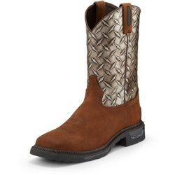 Men's Diboll Diamond Plate Composite Toe Work Boots