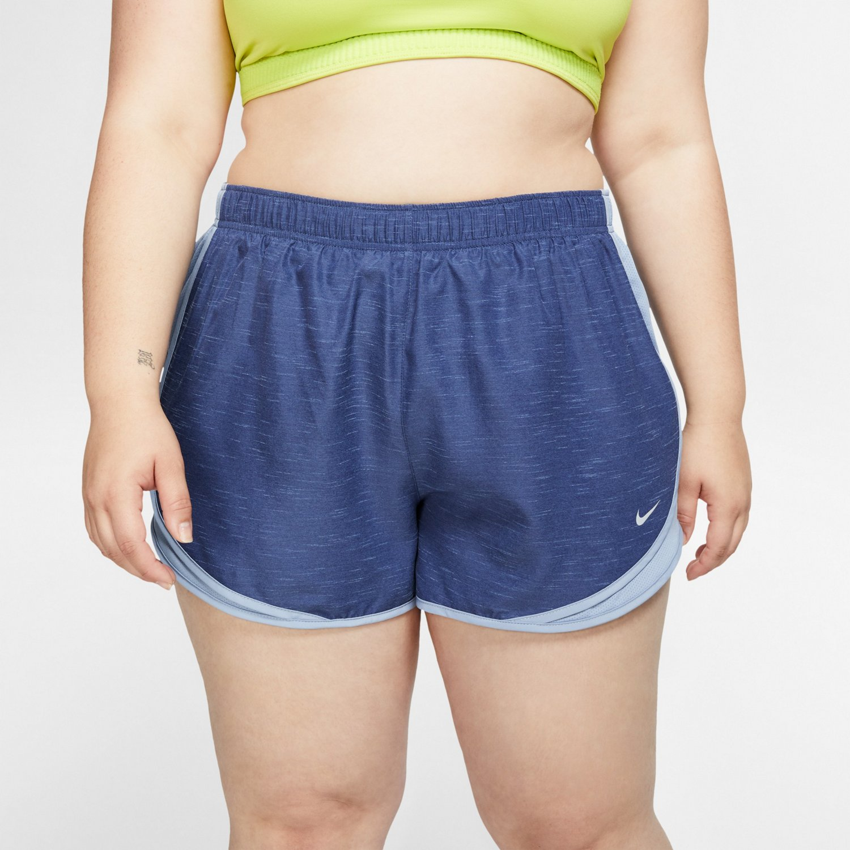 hot sale online 3bcf3 3cf57 Nike Women s Dry Tempo Plus Size Shorts   Academy