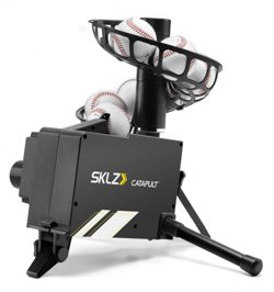 Catapult Soft Toss Pitch Machine and Fielding Trainer