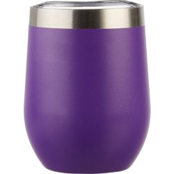 Throwback 10 oz Powder Coated Wine Tumbler