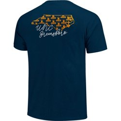 Women's University of North Carolina at Greensboro Allover State Pattern T-shirt