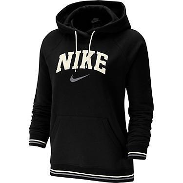 Nike Women's Nike Sportswear Fleece Striped Varsity Pullover