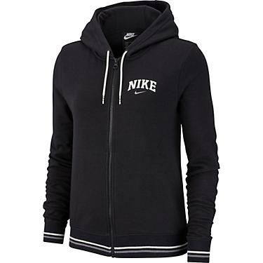 Nike Women's Nike Sportswear Fleece Striped Varsity Full Zip Hoodie
