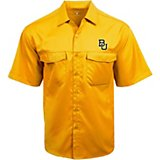 Antigua Men's Baylor University Game Day Woven Fishing Shirt