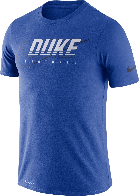 reputable site 2db24 e615b Nike Men s Duke University Dri-FIT Facility T-shirt   Academy