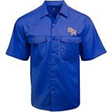 98a4bad3 Antigua Men's Sam Houston State University Game Day Woven Fishing Shirt