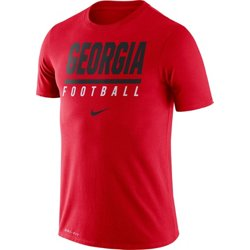 Men's University of Georgia Dri-FIT Cotton Icon Wordmark T-shirt