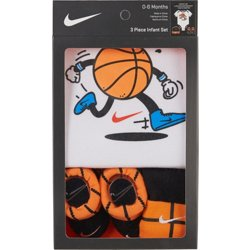 Infant Boys' Swoosh Sport Ball Boxed Set (0-6 months)