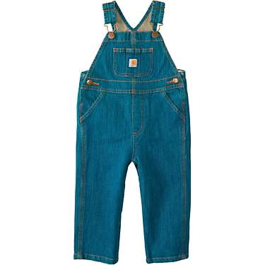 Carhartt Infant Boys' Washed Denim Bib Overalls