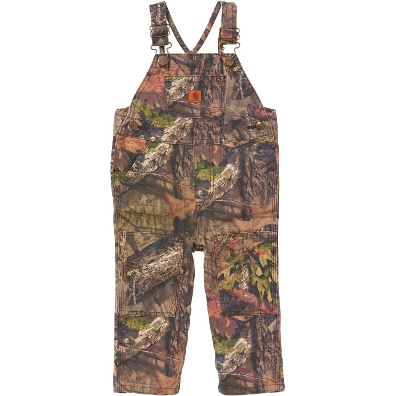Carhartt Infant Boys' Canvas Bib Overalls Mossy Oak, 3 Toddler - Men's Work Over/Coveralls at Academy Sports thumbnail