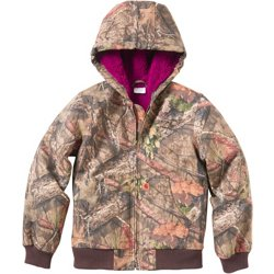 Girls' Hooded Active Jacket