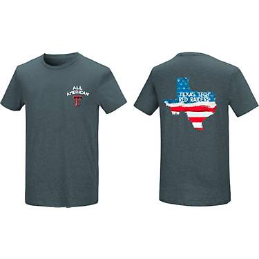 1ec70f36 New World Graphics Men's Texas Tech University Patriotic T-shirt