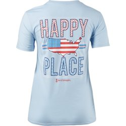 Women's Happy Place Short Sleeve T-shirt