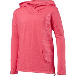 Girls' Linear Graphic Hoodie