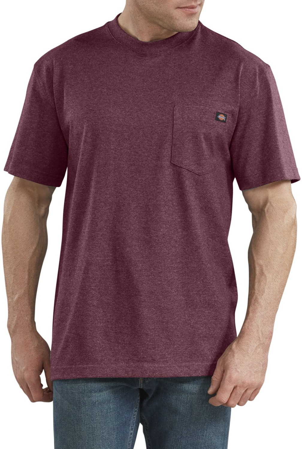 582db011a416 Display product reviews for Dickies Men's Heavyweight Crew Neck T-shirt