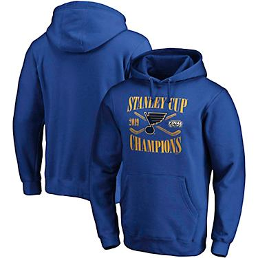 8431026361 St. Louis Blues Men's 2019 Stanley Cup Champions Hand Pass Hoodie