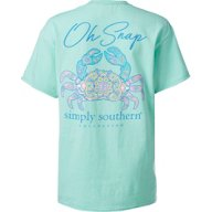 Simply Southern Women's Snap Graphic T-shirt