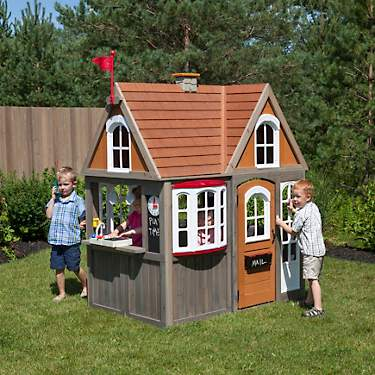 KidKraft Greystone Cottage Play House