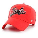 797b742eee9f4c Kansas City Chiefs Women's Sparkle Swoop Clean Up Cap. New