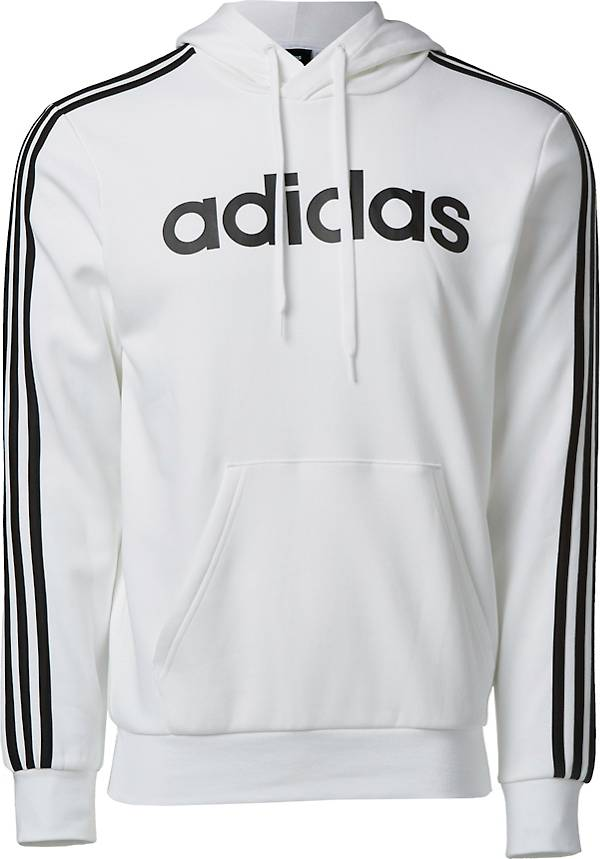 adidas Men's Essential 3-Stripes Pullover Hoodie