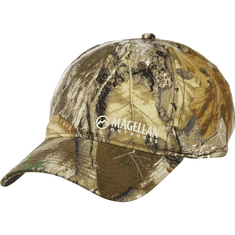 Magellan Outdoors Men's Twill Camo/Hunting Hat – Basic Hunting Headwear at Academy Sports