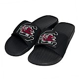Forever Collectibles Men's University of South Carolina Cropped Big Logo Slides