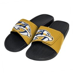 Boys' Nashville Predators Cropped Big Logo Slide Sandals