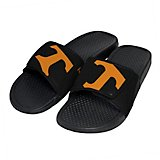 Forever Collectibles Men's University of Tennessee Cropped Big Logo Slides