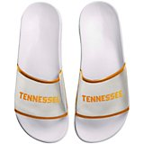 Forever Collectibles Women's University of Tennessee Clear Wordmark Slide Flip-Flops