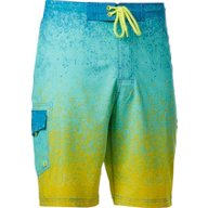 O'Rageous Men's Rainbow Spray True Boardshorts