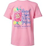 Simply Southern Girls' Tea Graphic T-shirt