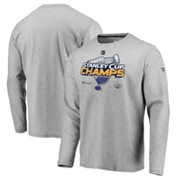 St. Louis Blues Men's 2019 Stanley Cup Champions Locker Room Long Sleeve T-shirt