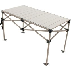 RIO Gear 25 in x 48 in Roll Top Folding Table