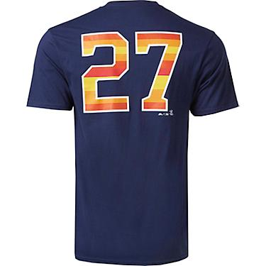 best website 312cf e8925 Majestic Men's Houston Astros Altuve ALT Inspired NN T-shirt