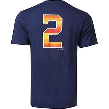 huge discount ae966 73e65 Majestic Men's Houston Astros Bregman ALT Inspired NN T-shirt