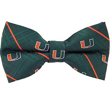 Eagles Wings Men's University of Miami Oxford Bow Tie