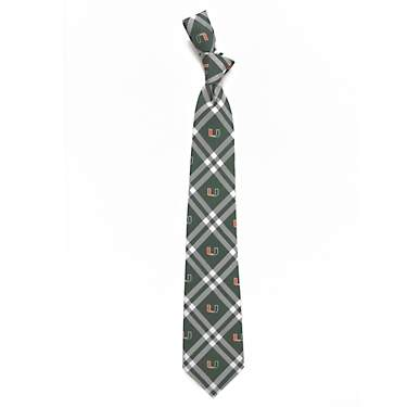 Eagles Wings Men's University of Miami Rhodes Woven Necktie