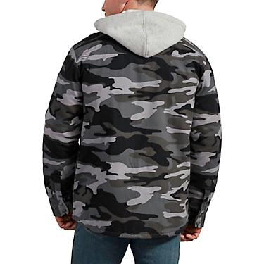 finest selection cheaper top-rated cheap Dickies Men's Icon Hooded Duck Quilted Shirt Jacket