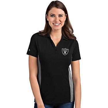 new product 6c512 4f487 Antigua Women's Oakland Raiders Venture Polo Shirt