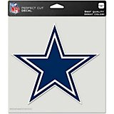 WinCraft Dallas Cowboys 8 in x 8 in Perfect Cut Color Decal
