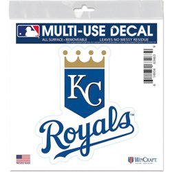 Kansas City Royals 6 in x 6 in Multiuse Decal