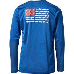 Boys' PFG Reel Adventure Long Sleeve Graphic T-shirt