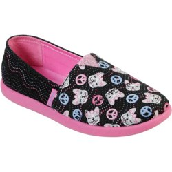 Girls' Lil Bobs Solstice 2.0 Peaceful Pups Casual Flats