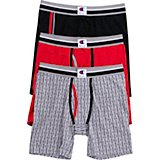Champion Men's 95/5 Everyday Comfort Cotton Stretch Boxer Briefs 3-Pack