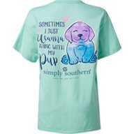 Simply Southern Women's Pup Graphic T-shirt