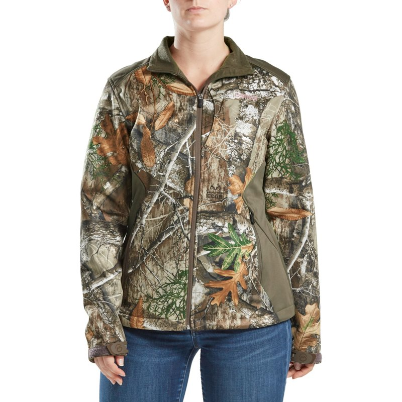 Magellan Outdoors Women's Mesa Scent Control Softshell Jacket, Small - Ladies Insulated Camo at Academy Sports thumbnail