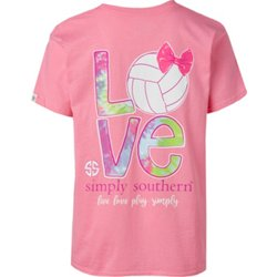 Girls' Volleyball Graphic T-shirt
