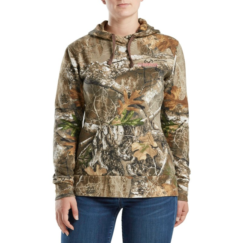 Magellan Outdoors Women's Hart Creek Fleece Hoodie, Medium – Ladies Insulated Camo at Academy Sports